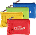 Translucent Zippered Coin Bags